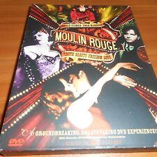 Moulin Rouge (DVD, 2001, 2-Disc Widescreen) Nicole Kidman, Ewan McGregor Used