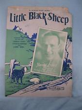 Little Black Sheep Sheet Music Vintage 1928 Harold Stokes Charles Newman (O)