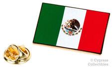 MEXICO FLAG ENAMEL LAPEL PIN MEXICAN TIE TACK BADGE SNAKE EAGLE Bandera NEW