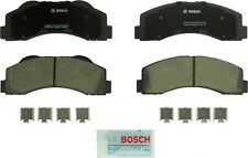 Disc Brake Pad Set-QuietCast Ceramic Pads with Hardware Front Bosch BC1414