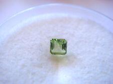 Peridot Princess Cut 2.5mm x 2.5mm Gemstone 0.10 Carats Natural Gem