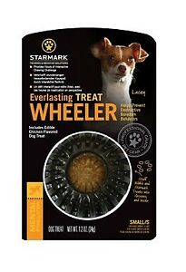 Starmark Everlasting Treat Wheeler Dog Toy | Dogs