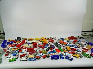 Large Job Lot of Die-Cast Metal Vehicles in A Tub 5.97 kg Gross Weight