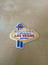 Welcome to Fabulous Nevada Las Vegas Sign Fridge Magnet, Las Vegas Tour Souvenir