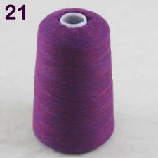 Sale New Luxurious Soft 100g Mongolian Pure Cashmere Hand Knit Cone Wool Yarn 21