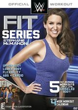 NEW Wwe Fit Series: Stephanie Mcmahon (DVD)
