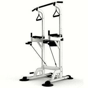 Multifunction Power Tower Adjustable Horizontal Bar Pull-ups Dip Stands Gym