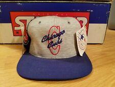 Chicago Cubs Vintage 90s Starter Snapback Pinwheeel Big Logo Script New w/ Tags