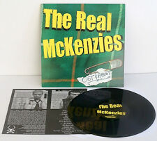 the REAL McKENZIES oot and aboot LP Vinyl Record w/ insert, honest don's records
