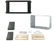 PORSCHE CAYENNE CD RADIO STEREO HEADUNIT DOUBLE DIN FACIA KIT WITH CAGE CT23PO01