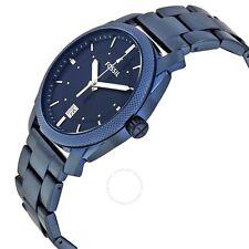FOSSIL FS5231 Machine Blue Dial Men's Watch