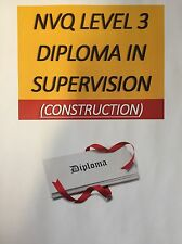 NVQ level 3 diploma in occupational work supervision Answers  (construction)