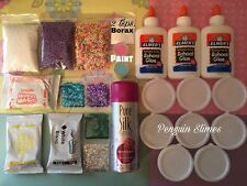 DIY SLIME KIT SLIME SUPPLIES Make your own Fluffy, Butter, Glitter Slimes