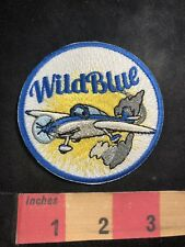 Wild Blue Wildblue Airplane / Aviation Related Patch 91N9