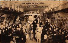 CPA Paris 18e Une Soiree au Chat Noir Cabaret Artistique Clichy (284408)