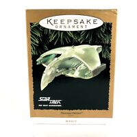 New Hallmark Romulan Warbird Star Trek Next Generation 1995 Keepsake Ornament