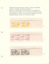 Liberia Scott 312 Jehudi Ashmun proof specimen printing progression stamps MNH