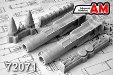 KAB-1500L Laser-Guided Bomb (Su-24/25/27sm/30/33/34/35) AMIGO RESIN 1/72