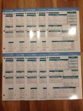 SAXON MATH Intermediate 4-5 Student Reference Chart (LOT OF 10)