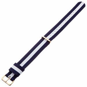 Daniel Wellington Women's Watch Strap Classic Glasgow Nylon, 18mm BDW-0703DW