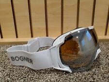 Bogner Ski goggles just B white