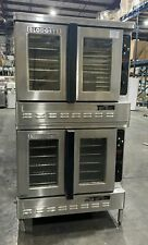 Blodgett Dfg 100 Es Natural Gas Double Deck Stack Full Size Convection Oven