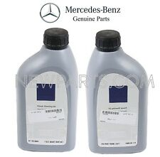 Set of Two Quarts Power Steering Fluids Genuine For Mercedes W110 W164 W202 W210