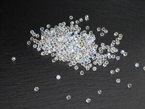 Swarovski® Kristalle B-Ware Ø 6 mm Steine Glassteine Dekosteine geschliffen Deko