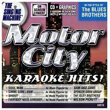 Karaoke: Motor City Style of Blues Brothers Hits CD