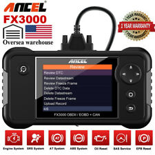 ANCEL FX3000 Automotive OBD2 Scanner Check Car Engine Transmission SRS ABS Reset