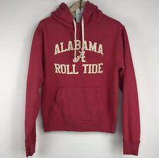 PressBox Ladies' Pink ALABAMA Crimson Tide Long Sleeve Sweatshirt Hoodie Size M