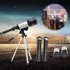 F30070M 300x70mm Monocular Terrestrial Astronomical Refractor Telescope + Tripod