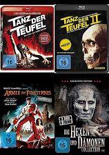 Evil Dead Uncut TANZ DER TEUFEL 1 2 3 Complete Collection 6 HEXEN DÄMONEN BluRay