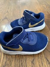 Nike Flex Contact Baby Boys Shoes Sneakers Size 6C Blue