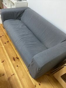 IKEA 2er Couch Sofa Klippan Bezug: Grau