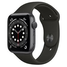 Apple Watch Series 6 Space Gray Aluminum Black Sport Band 40MM Model A2291 NEW