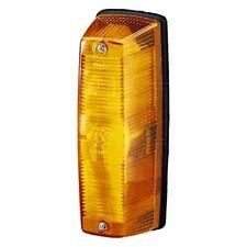Indicator: Lamp NO Bulb - Left with Amber Lens - Right | Hella 2BA 001 221-041