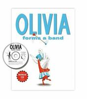 Olivia Forms a Band: Book and CD: By Falconer, Ian