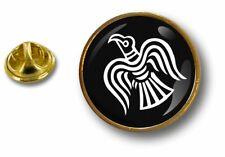 pins pin badge pin's metal button raven drapeau viking vinland odin