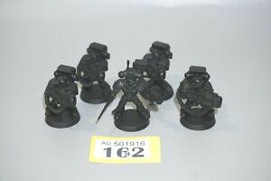 Warhammer 40k Space Marine Devastator Squad x 5 - LOT 162