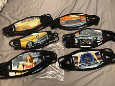 Lowrider Face Masks, 6 Designs, 100% Cotton, Washable, Impalas, Cadillacs