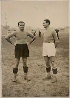 Monzeglio - Allemandi Campioni del Mondo di Calcio 1934-1938 Club Roma 1936