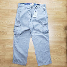 ALEXANDER JULIAN MEN COTTON FLAT FRONT CARGO PANTS SIZE 38*30 RETAIL $78 Z06-24