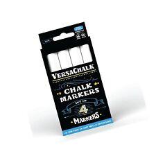White Liquid Chalk Markers for Blackboards by VersaChalk (4 Chalkboard Marker...