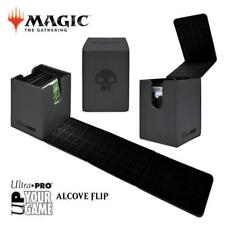 MAGIC ALCOVE FLIP DECK BOX BLACK with Skull
