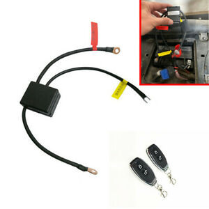 Motorcycle Dual Remote Control Wireless 12V Battery Disconnect Isolator Switch