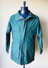 Eddie Bauer Wool Lined Jacket Coat Green Mens Size Medium
