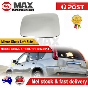 MIRROR GLASS FOR NISSAN XTRAIL X-TRAIL T31 2007-2014 LEFT PASSENGER SIDE LH