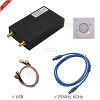 25MHz-6GHz Signal Generator Simple Spectrum Analyzer Signal Tracking SAG6000L