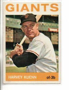 1964 TOPPS HARVEY KUENN  (NM OR BETTER)